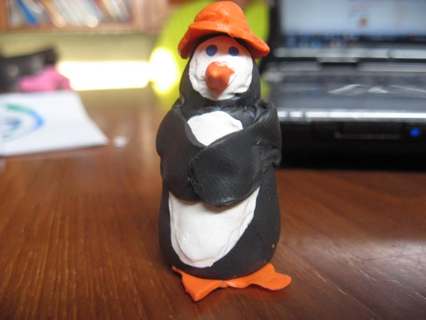 How to Make an Awesome Little Clay Penguin!