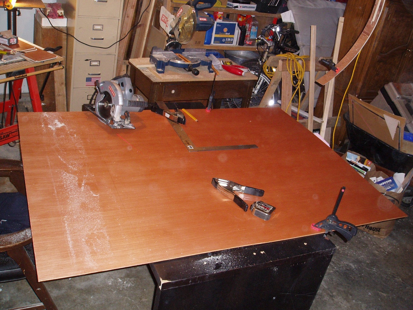 Starting Main & Galley Cabinetry