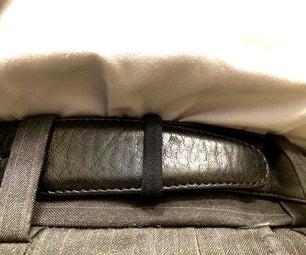 Make an Extra Belt Loop for Your Belt