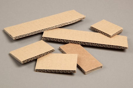 Step 1: Cut Out Card Board Pieces