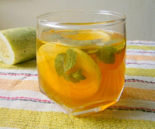 Cucumber-Mint Iced Tea