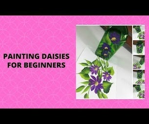 PAINTING DAISIES FOR BEGINNERS