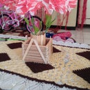 How to Make Classic Pot Flower Stick