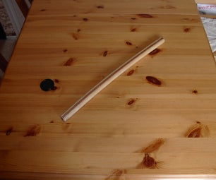 How I Made a Curvy Fightin' Stick