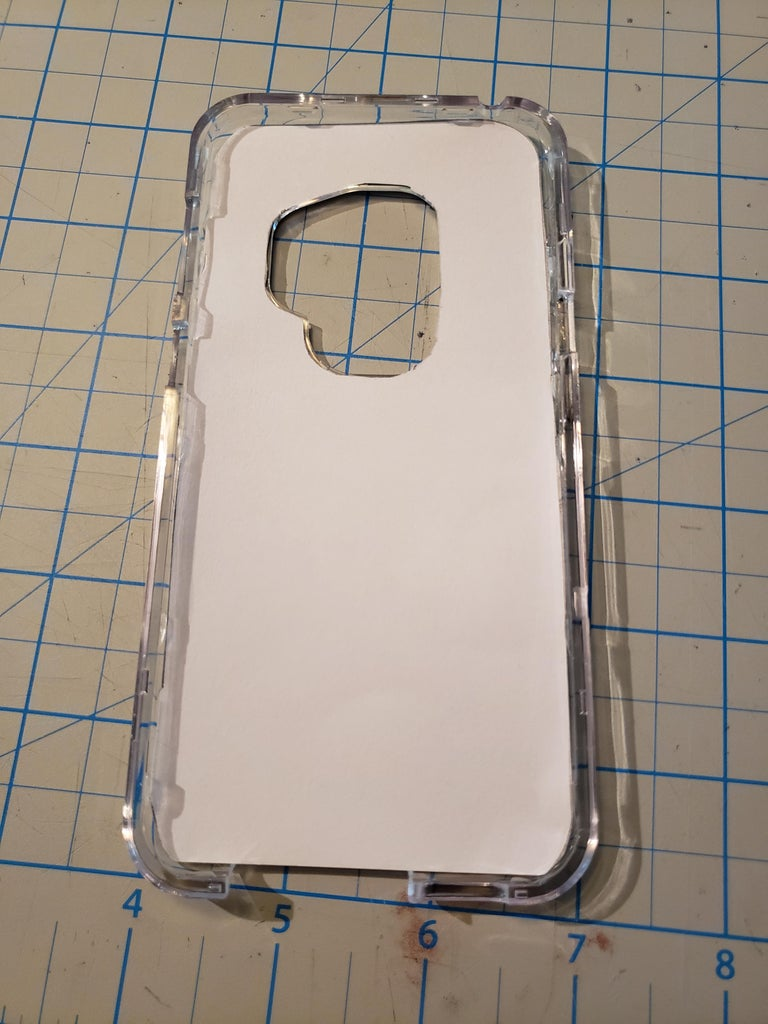 Place Insert Into Case