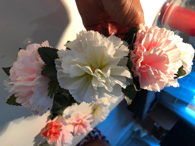 Glue the Flowers