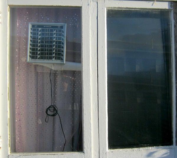 Solar Heater (Fan Boosted)