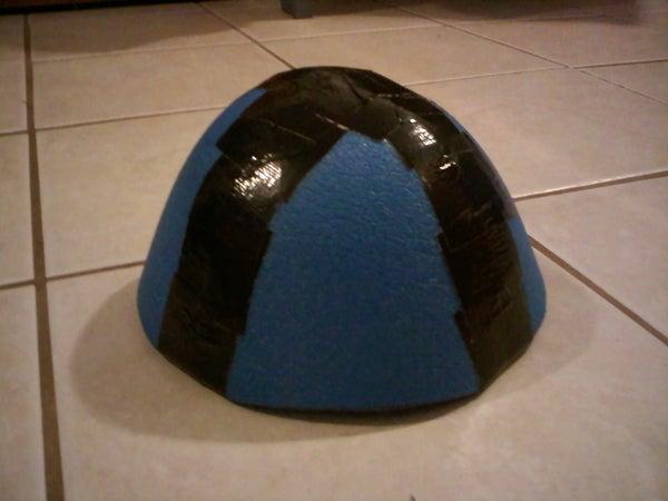 How to Make a Foam Helmet Top