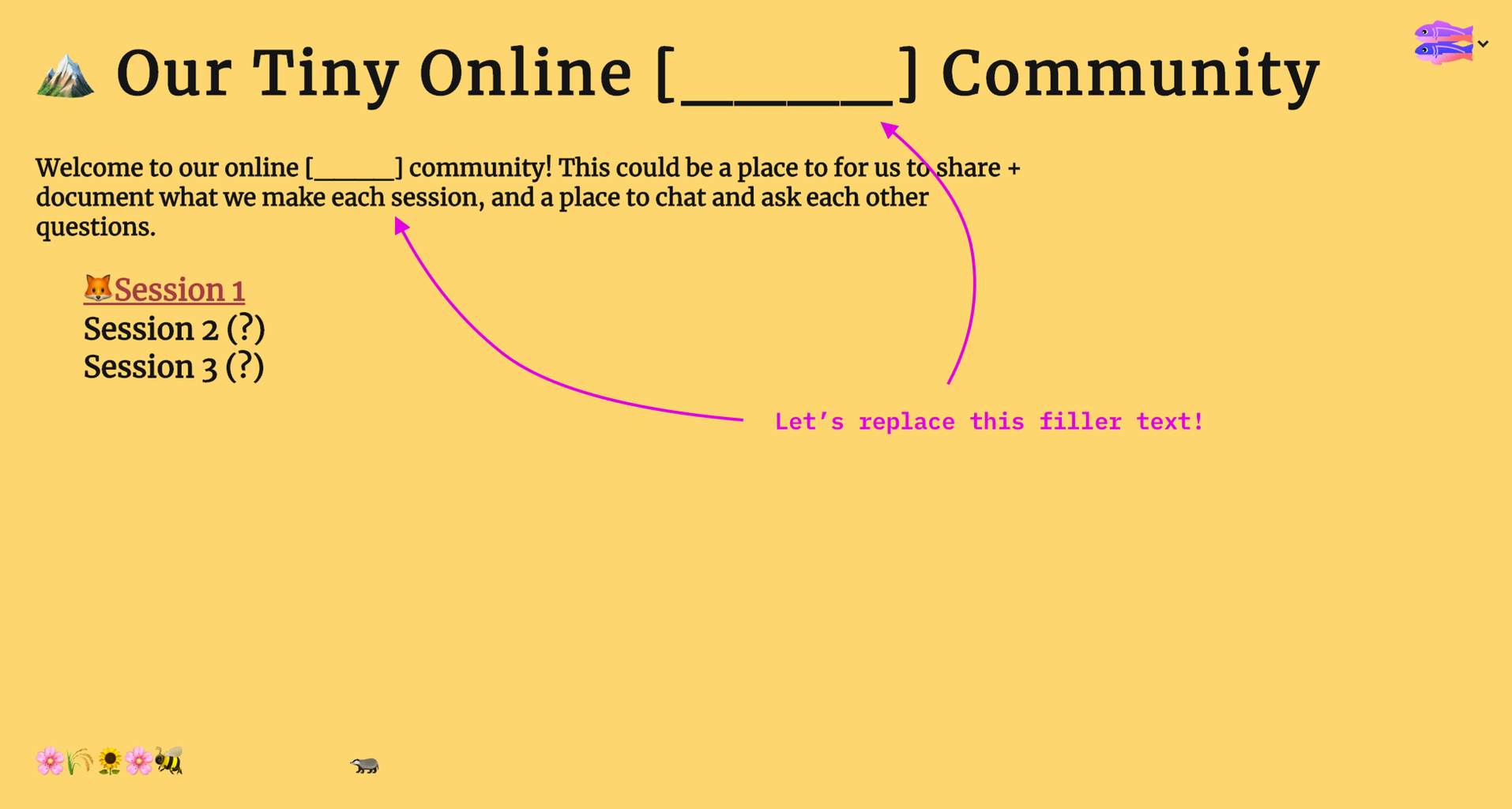 Changing the Text on the Website (plus a Quick Intro to HTML and CSS)