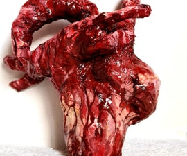 Human Heart Made of Paper