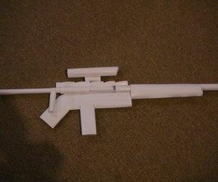 Paper Gun Sniper Rifle