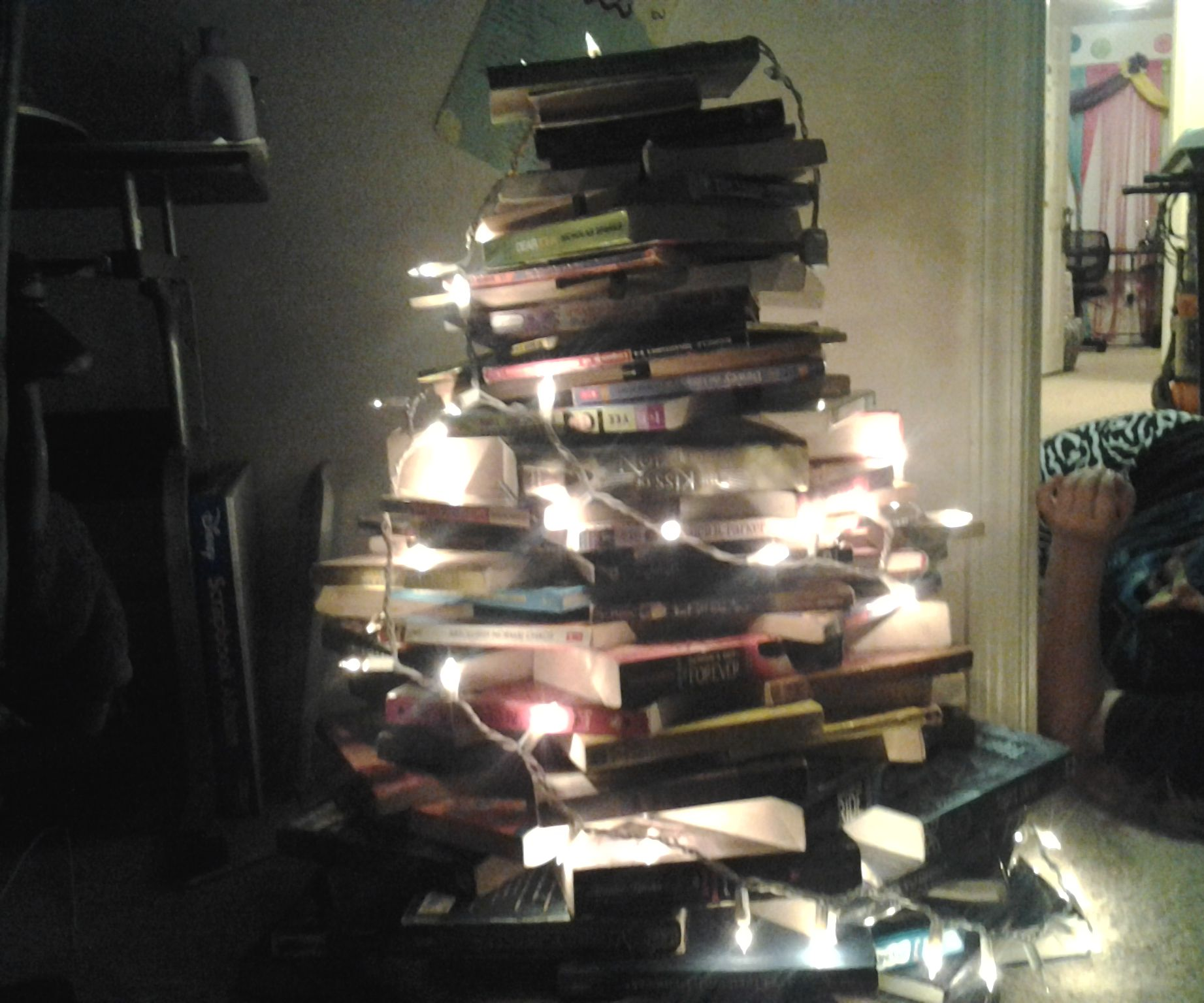 How To Create A Book Christmas Tree