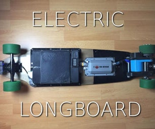 3D-Printed Electric Longboard