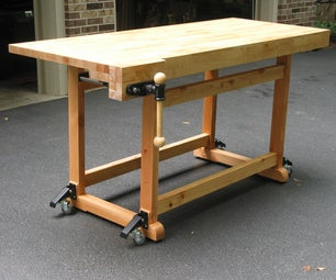 Build This Woodworker's Workbench to Learn Mortise & Tenon Joinery