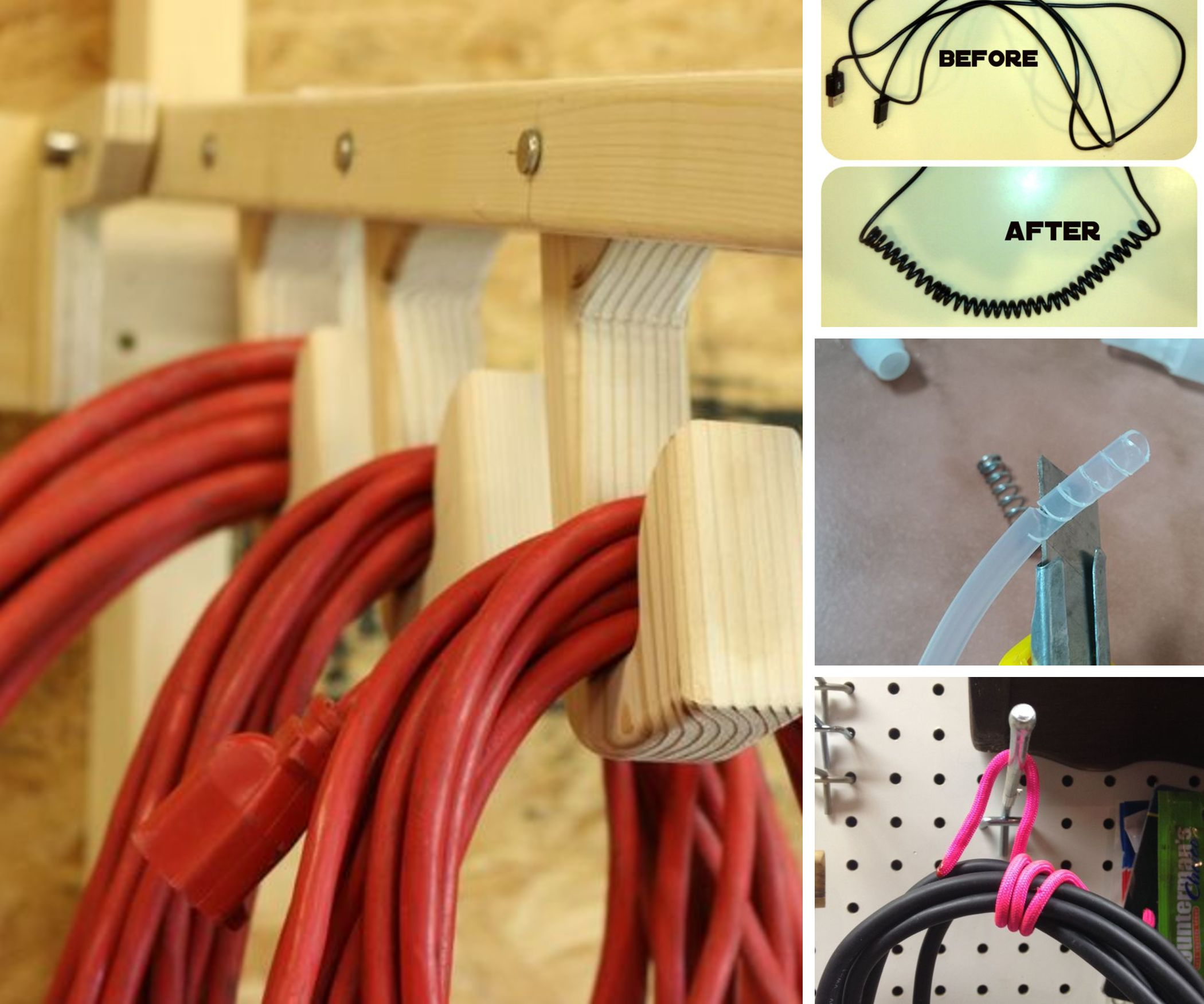 8 Easy Ways to Organize Your Cords