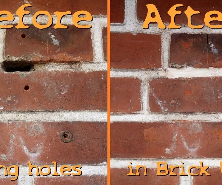 How to Fix Holes in a Brick Wall Cheap and Easy