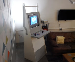 Plywood Arcade Machine