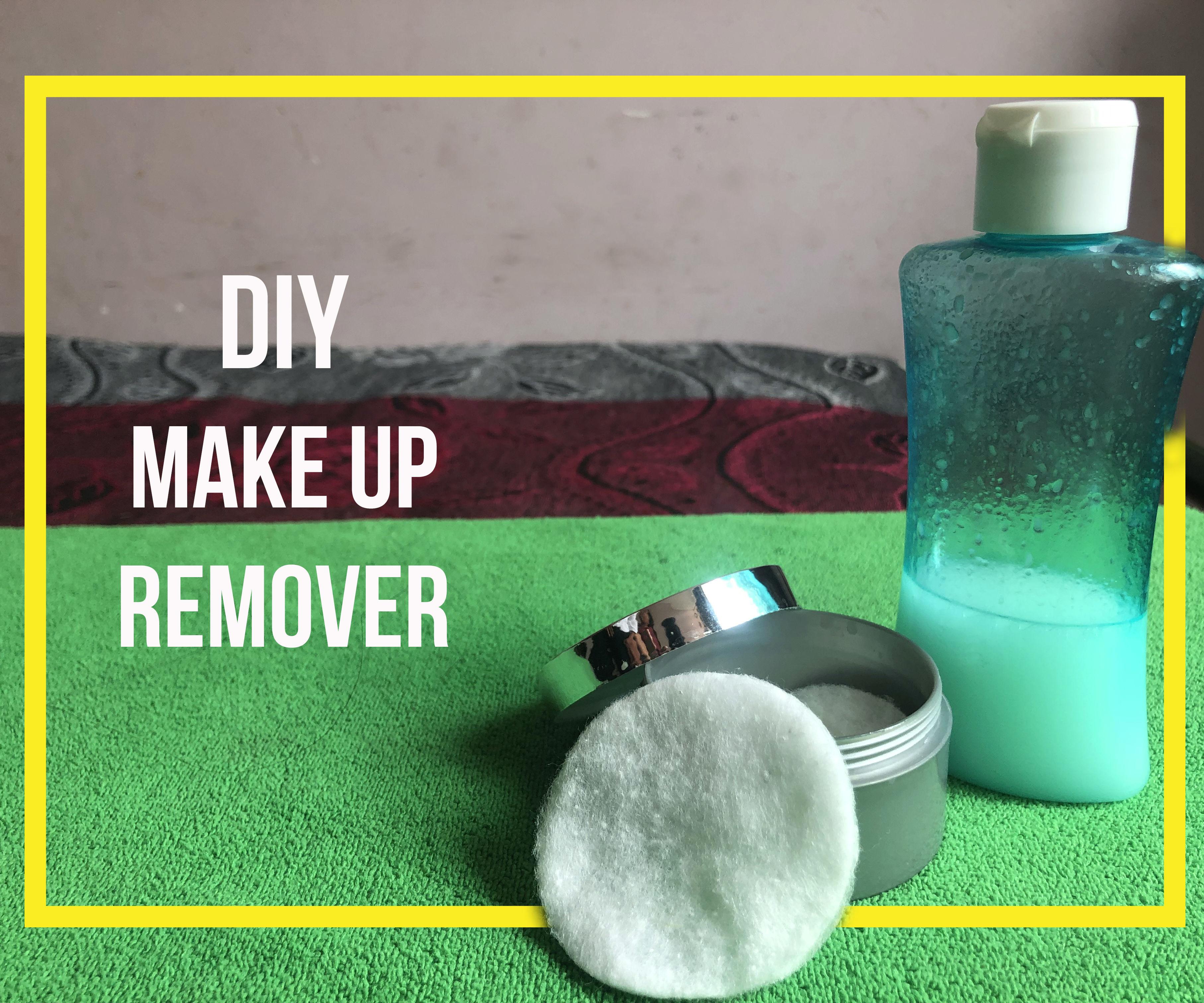 Homemade DIY Makeup Remover