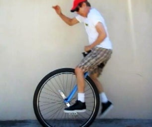 Unicycle: the Ultimate 36er / Coker Free Mount Tutorial!