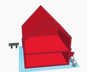 Tinkercad Mini Dollhouse