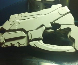 How to Make a Prop Weapon Using AutoCAD Raster Design.