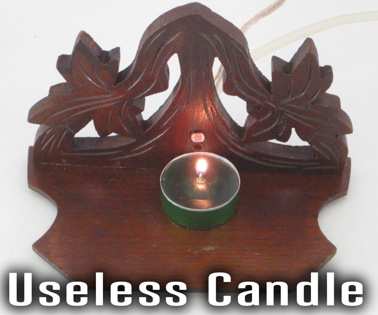 The Useless Candle (A Candle That Blows Itself Out)
