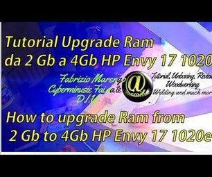 Upgrade Laptop RAM Memory