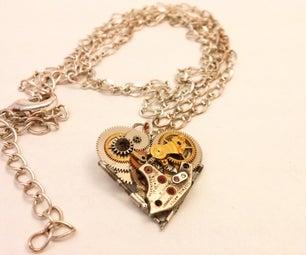 Clockwork Heart Pendent
