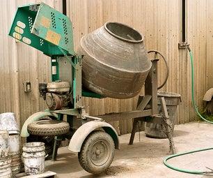 DIY CONCRETE:: How-To-Mix Concrete