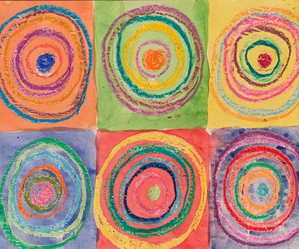 Preschool Art Lesson: Kandinsky's Circles