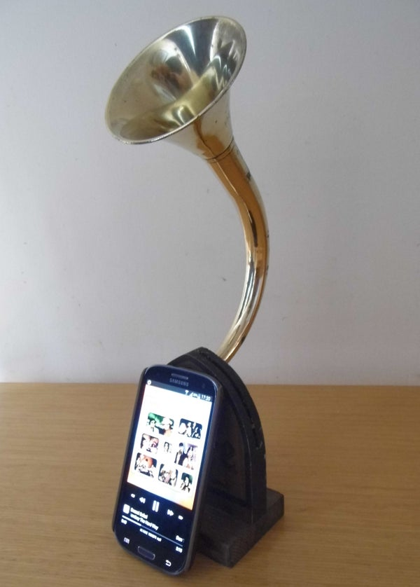 Phone Horn Passive Amplifier