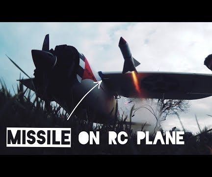 The RC Plane That Fires Rockets