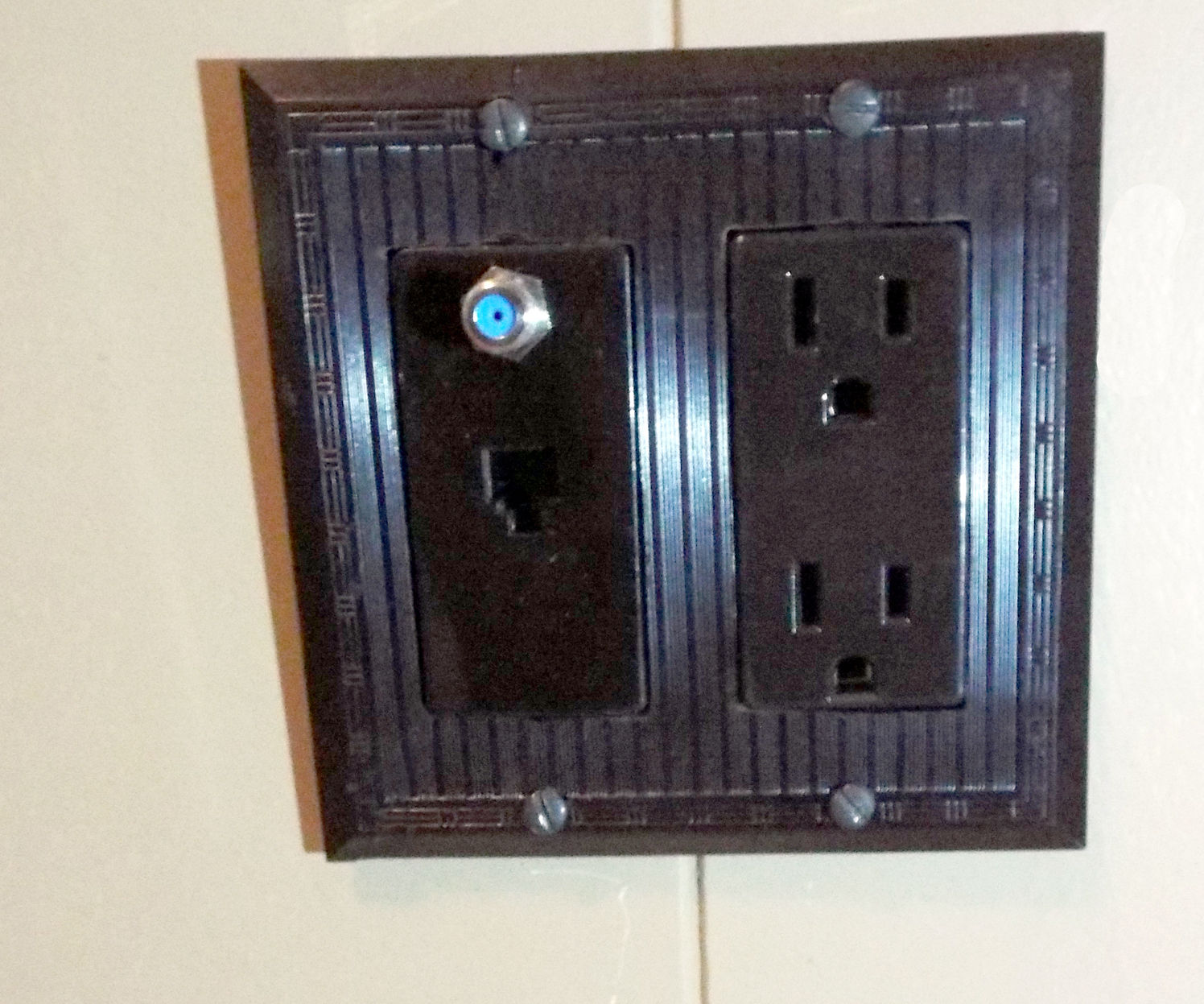 DIY Custom Electric Switch Wall Plate