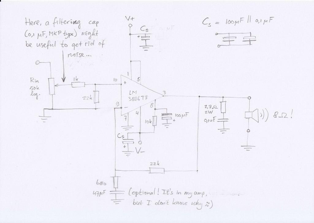 Echo 3D Surround Sound System Circuit Diagram : Njm2706