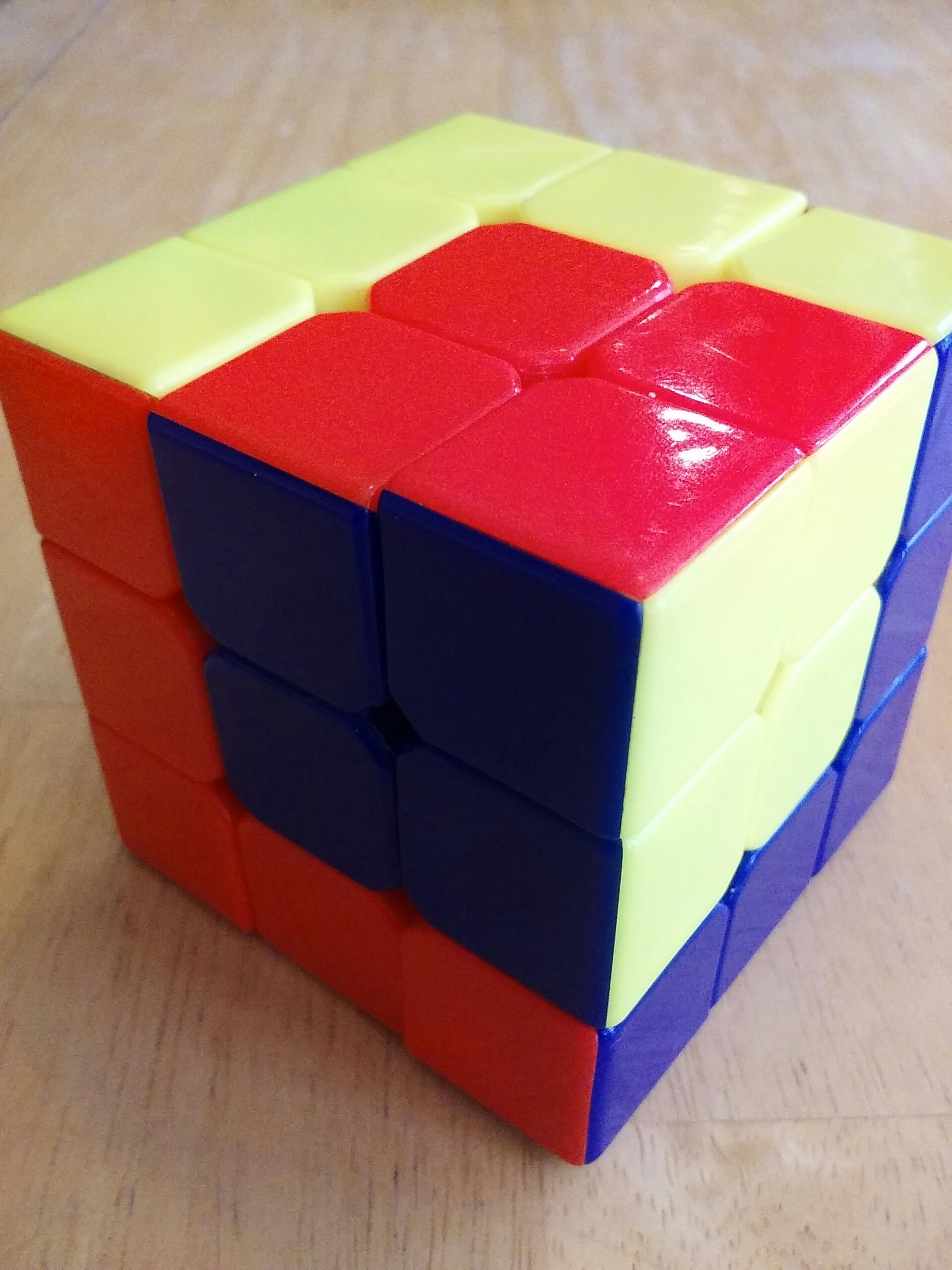 Rubiks Cube Tricks: Cube in a Cube