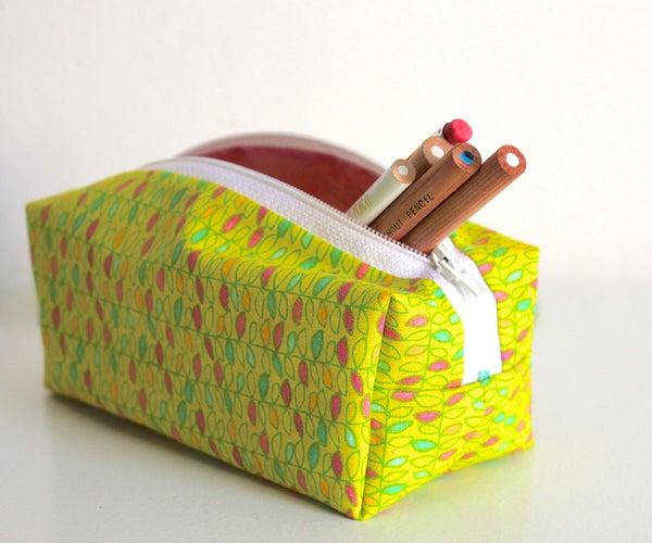 Zippered Pencil Case