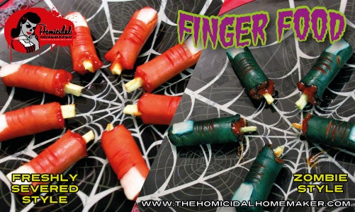 Finger Food (Zombie-Style or Freshly Severed)
