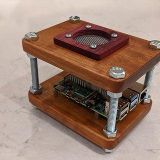 Oak Raspberry Pi Case for Under $10