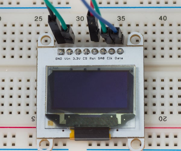 Getting Started With OLED Displays