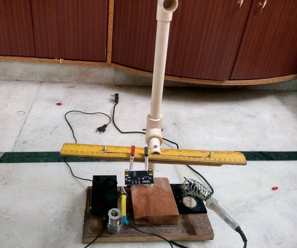 DIY Helping Hand Kind of Soldering Station With PVC Pipes