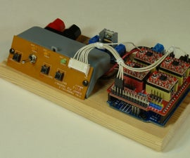 Scrappy Integrated Grbl CNC Controller & Power