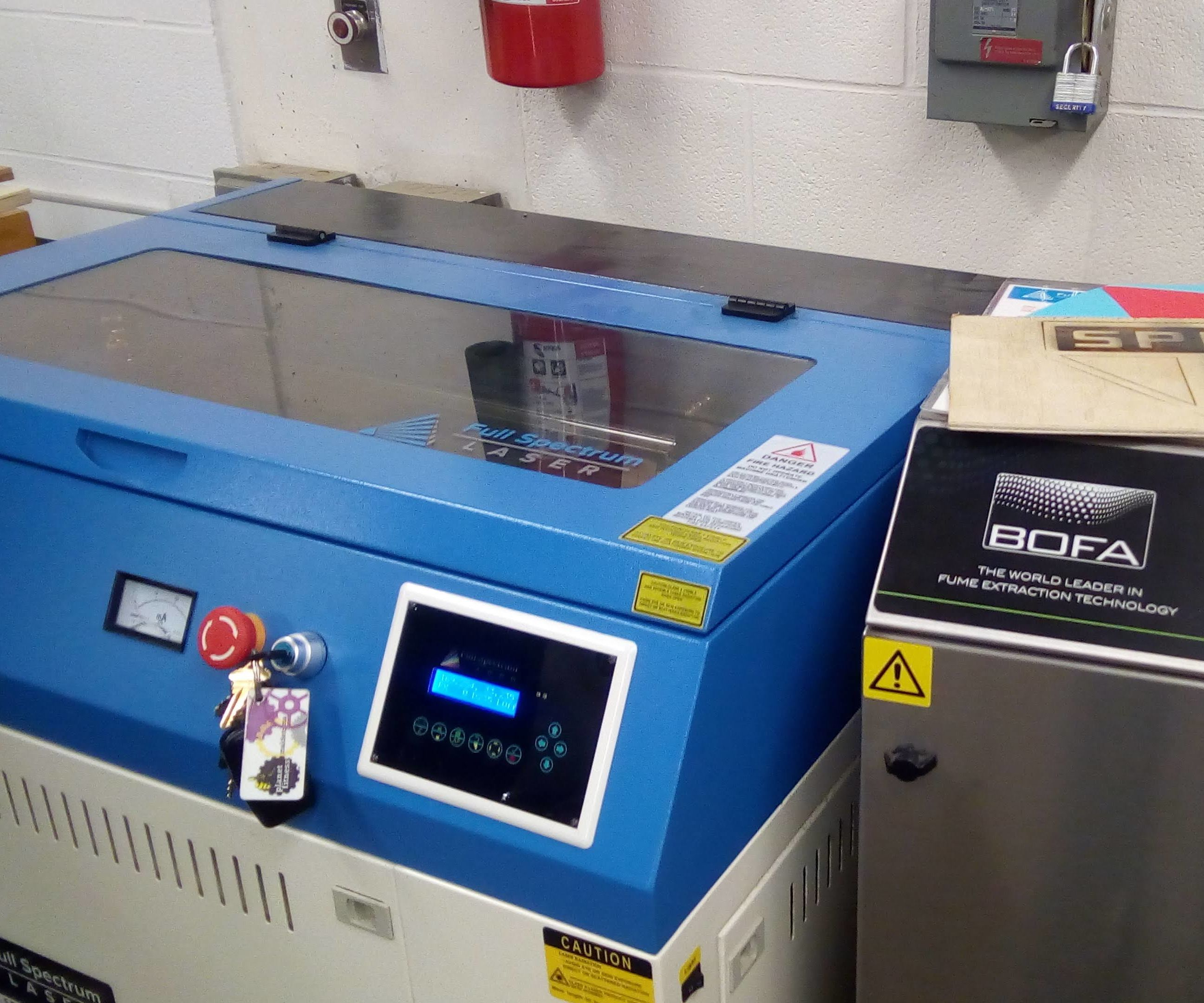 How to Use the Laser Cutter at Malden High School