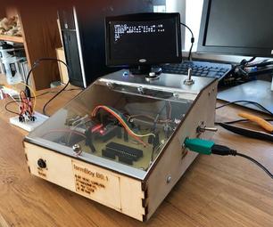 Homebrew 8-Bit Computer With TinyBASIC and ATMEGA1284P