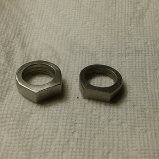 Make a Ring From a Nut