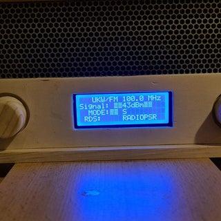 Si4703 FM Radio Arduino Uno Schield