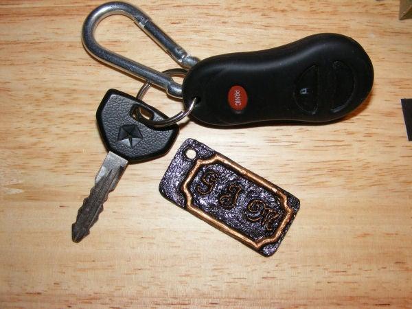 Personalized Keychain Fob