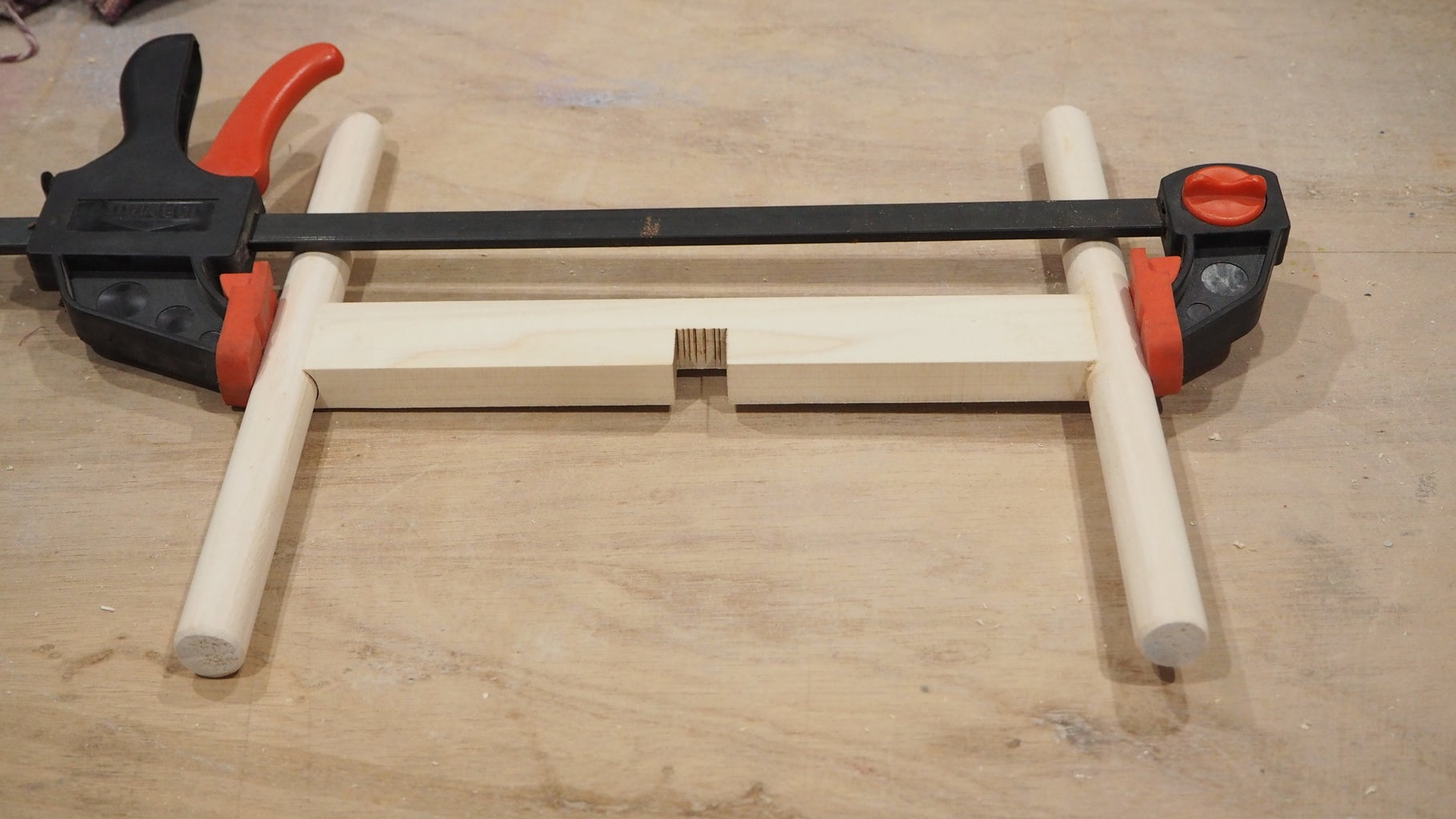 Assemble With Dowel Pins