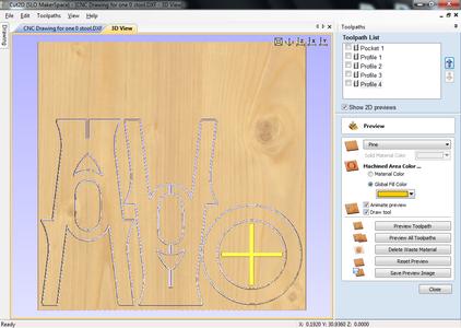 Create Toolpaths