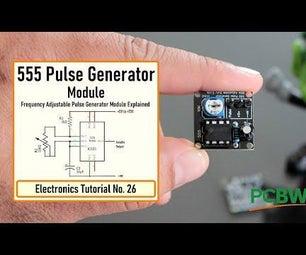 555脉冲发生器模块,如何工作