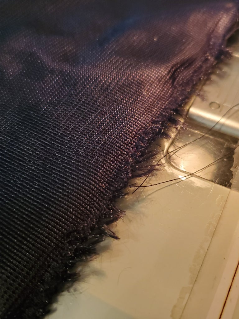 Zipper, Side 1, Part 2 - the Sewing